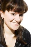 Mulher de sorriso nova bonita Imagens de Stock
