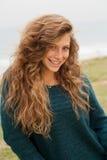 Mulher de sorriso nova bonita Foto de Stock Royalty Free