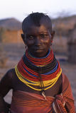 Mulher de Turkana foto de stock royalty free