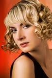 Mulher de Vamp Fotos de Stock Royalty Free