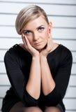 Mulher de vista triste Fotografia de Stock Royalty Free