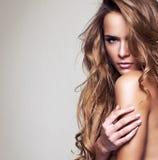 Mulher delicada Imagens de Stock Royalty Free