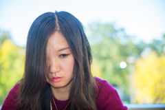 Mulher deprimida Imagens de Stock