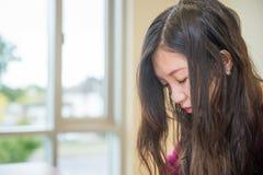 Mulher deprimida Fotografia de Stock