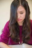 Mulher deprimida Imagens de Stock Royalty Free