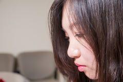 Mulher deprimida Fotos de Stock