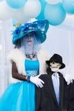 Mulher desconhecida no 15o dia anual o festival inoperante Imagem de Stock Royalty Free