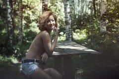 Mulher despida Fotos de Stock