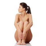 Mulher despida bonita nova Imagens de Stock