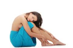 Mulher despida bonita nova Fotografia de Stock Royalty Free