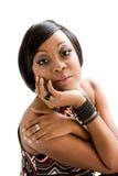 mulher do africano 70s Fotografia de Stock