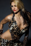 Mulher do Amazonas selvagem Foto de Stock
