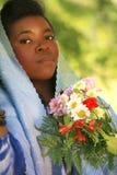 Mulher do americano africano Fotografia de Stock Royalty Free