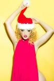 Mulher do ano novo Foto de Stock Royalty Free