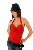 Mulher do Asian de Hip Hop Imagem de Stock Royalty Free