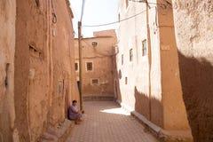 Mulher do berber de Marrocos Foto de Stock