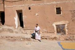Mulher do berber de Marrocos Fotografia de Stock