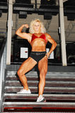 Mulher do Bodybuilding. Fotografia de Stock Royalty Free