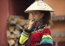 Mulher do chinês da minoria Foto de Stock
