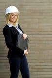 Mulher do contratante foto de stock royalty free