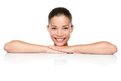 Mulher do cuidado de pele dos termas da beleza Imagem de Stock Royalty Free