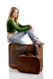 Mulher do curso Imagens de Stock Royalty Free