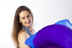 Mulher do dançarino de barriga Fotos de Stock