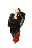 Mulher do dançarino do Flamenco Fotografia de Stock