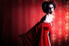 Mulher do diabo Imagens de Stock Royalty Free