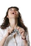 Mulher do divertimento Fotos de Stock