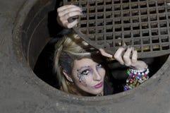 Mulher do Dungeon imagens de stock