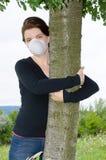 Mulher do ecólogo fotografia de stock royalty free
