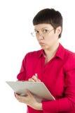 Mulher do escritório Fotos de Stock Royalty Free