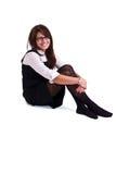 Mulher do escritório no estúdio Imagem de Stock