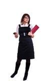 Mulher do escritório no studdio Fotografia de Stock