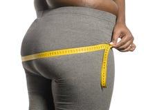 Mulher do excesso de peso foto de stock