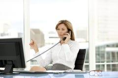 Mulher do executivo empresarial Fotografia de Stock