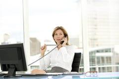 Mulher do executivo empresarial Fotografia de Stock Royalty Free