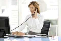 Mulher do executivo empresarial Imagens de Stock Royalty Free