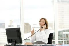 Mulher do executivo empresarial Fotos de Stock Royalty Free