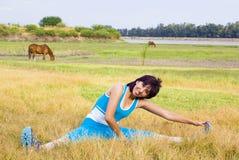 Mulher do exercício Foto de Stock