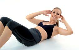 Mulher do exercício Imagens de Stock