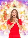 Mulher do feriado Imagem de Stock Royalty Free