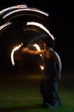 Mulher do fogo Imagens de Stock Royalty Free