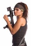 Mulher do guerreiro Imagens de Stock