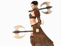 Mulher do guerreiro Foto de Stock