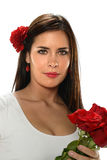Mulher do hispânico de Younh foto de stock royalty free