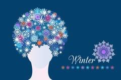 Mulher do inverno Foto de Stock Royalty Free