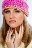 Mulher do inverno Fotografia de Stock Royalty Free