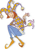 Mulher do Jester Imagens de Stock Royalty Free